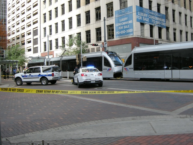 woman on bicycle killed by METRO light rail July 2013