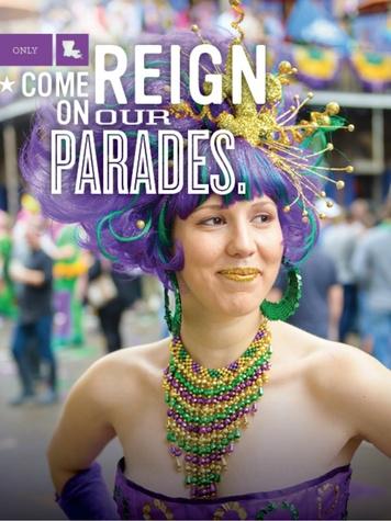 Louisiana Mardi Gras campaign