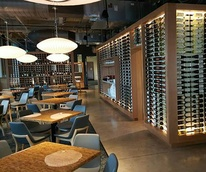 The Grove Wine Bar and Kicthen Austin restaurant downtown location interior 2015