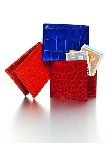 ken downing collection, alligator wallet, neiman marcus