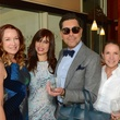 10 Holly Waltrip, from left, Karina Barbieri, Ceron and Lisa Santos at the Dec My Room luncheon October 2014
