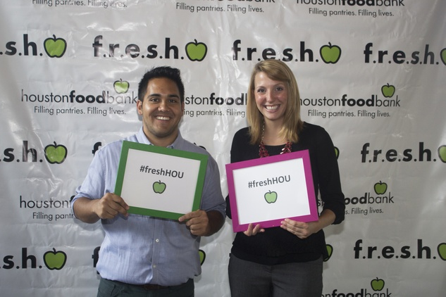 Adam Supgul and Melissa Daigneault at the f.r.e.s.h. new young professionals group party june 2014.