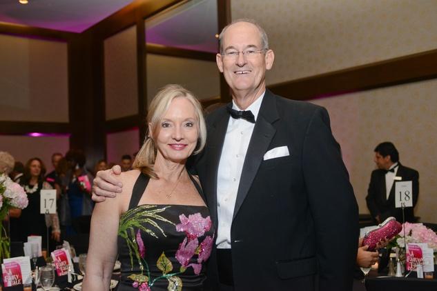 1 Lyn and Bill Hutchinson at the Pink Door Gala November 2014