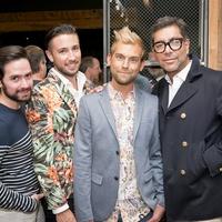 Houston, Stag Provisions opening party, June 2015, Tarek Bjeirmi, Javier Rodriguez, Taylor Hudgins, Ceron