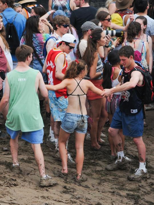 Free Press Summer Fest June 2014 mud
