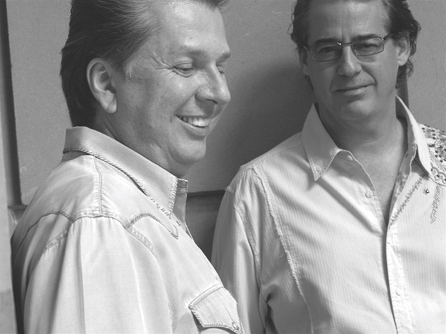 Dean Fearing and Robert Del Grande