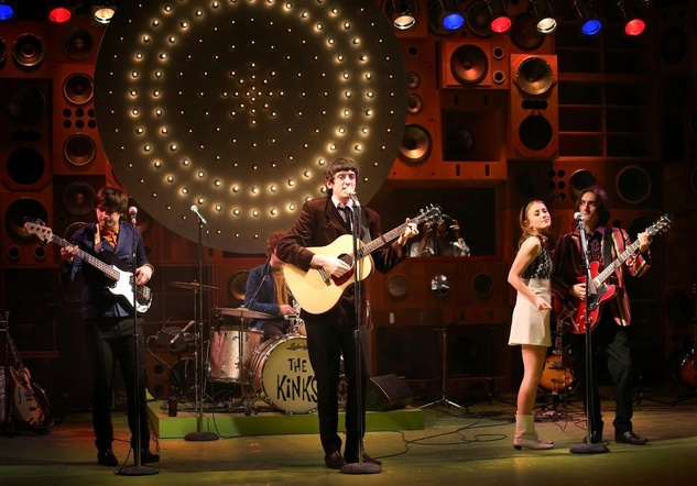 Sunny Afternoon Kinks musical London