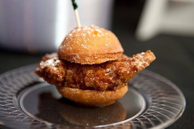 The Bird House chicken donut