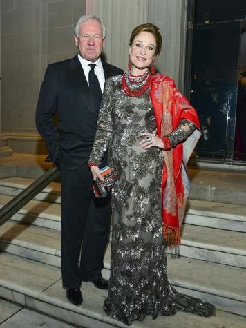 10 John Thrash and Becca Cason Thrash at the MFAH Grand Gala Ball October 2013