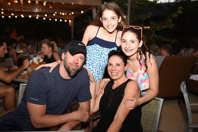 News, Shelby, Thread Alliance, Blue Moon Party, July 2015, Kevan, Kennedy and Kourtney Tabitha Casey.
