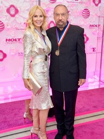 Texas Medal of Arts Awards Eloise DeJoria John Paul DeJoria