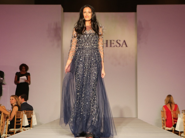 18 Marchesa gown for live auction at Catwalk for a Cure November 2014
