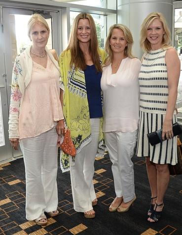 Emiliy Graybal, Leah Ashley, Laura Knauth and Ashley Szczpanski at Komen luncheon featuring Joan Rivers June 2014