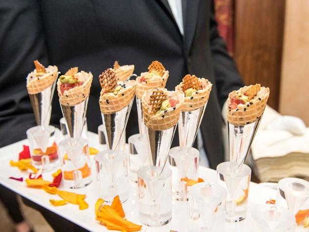 Appetizer at Edith Royal's 90th