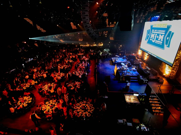 Mack Jack and McConaughey 2016 Gala ACL Live Moody Theater crowd