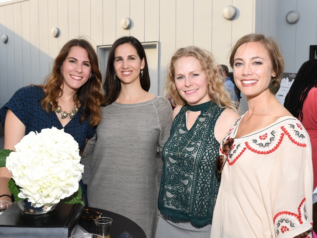 Kristin Rozanski, Kirstin Brenders, Emily Smith, Mary Maloney at Barbara Bush Foundation gala kickoff