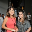 Adela Uchida, left, and Ruchee Mukerjee at the Curry Crawl May 2014