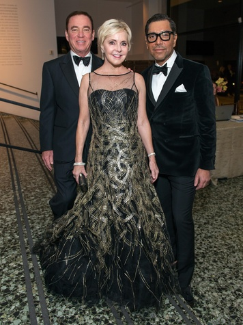 22 Mike and Karen Mayell, from left, with Ceron at the MFAH Grand Gala October 2014