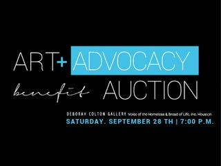"""Voice of the Homeless & Bread of Life host """"Art + Advocacy Benefit Auction"""""""