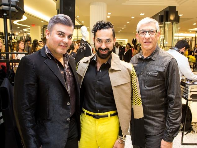 Houston Stylemakers 2015 Edward Sanchez, Fady Armanious, John Dascoulias