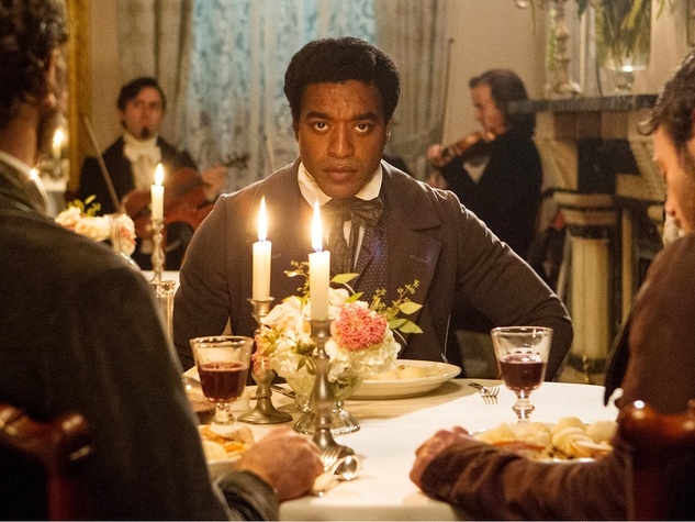Chiwetel Ejiofor in 12 years a slave film