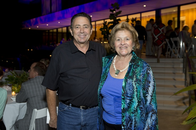 3 Robert Rayburn and Kathy Lord at the Bayou Preservation Association 15th annual glala Bayoutopia October 2014