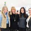Bethany Buchanan, Katie Scott, Monica Abney, Julie Bortnick at Katie Design trunk show at Neiman Marcus