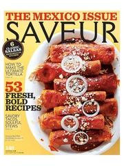 Saveur, Hugo Ortega, July 2012, cover