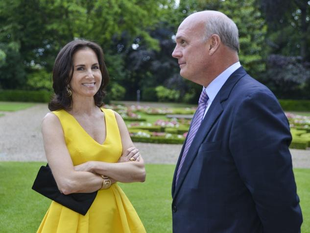 Ann Wolf and Bobbo Jetmundsen at Luxembourg Gardens dinner June 2013