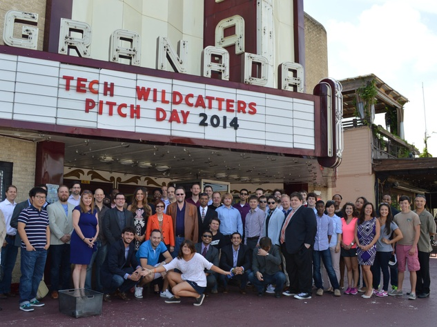 Tech Wildcatters class of 2014 at Pitch Day