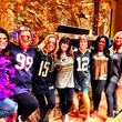 Laura Davenport, Cyndi Baily, Rosemary Schatzman, Pamela Walker, Mary Whalley Marlene Jessurun, Vanessa Sendukas at Sundance house party