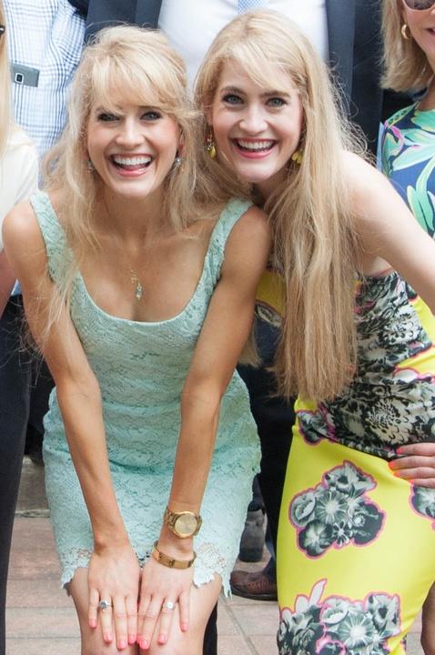 Alica Bush, Amelia Bush (right) at Match Day UT Medical School