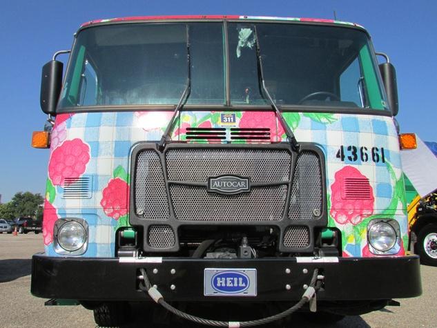 6 art recycling trucks August 2014