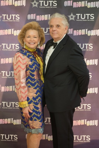Gerrianne and Victor Costa at 2017 TUTS Dreamgirls Gala
