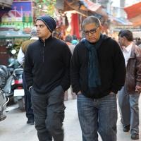 Decoding Deepak, Deepak Chopra, Gotham Chopra, walking, October 2012