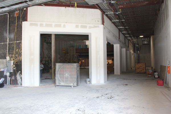 Alabama Theater Construction, Interior 3, June 2012