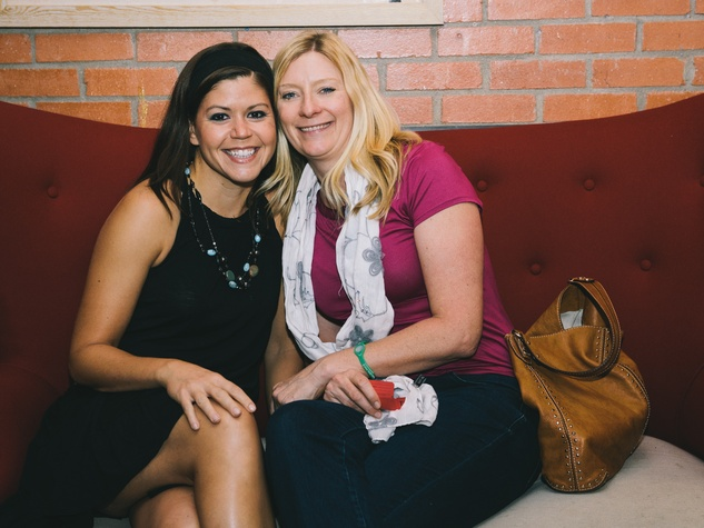 10 Patricia Boukassa, left, and Allie Schott at Dine Around Houston at Sparrow Bar & Cookshop