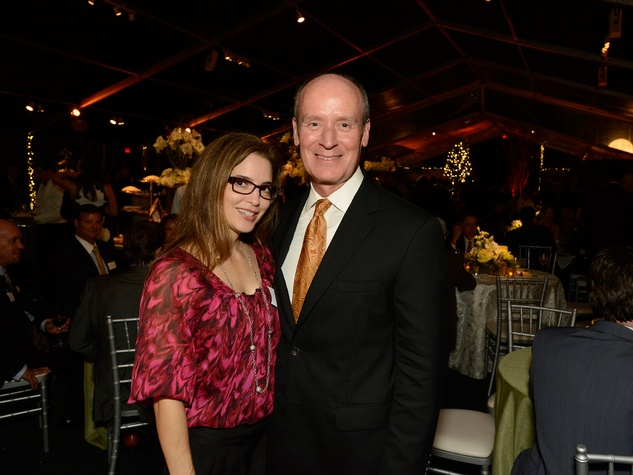 29 Nancy Calles and Dr. Mark Kline at the Texas Children's Ambassadors Holiday Party December 2013