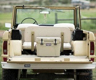 Yeti Coolers truck
