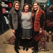 Kirby McCool, from left, Laura Kelsey and Lindsay Holstead at Sid Mashburn + Ann Mashburn Houston Anniversary Party December 2014