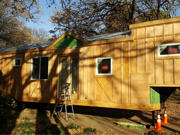 Luxury homebuilder starts a tiny house trend in Dallas