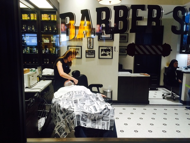 Golden Nugget barber shop