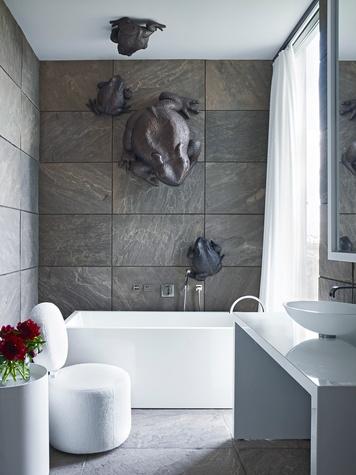 Nancy Braithwaite Simplicity book October 2014 bath with toads
