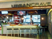 Urban Crave Bar and Grill, airport restaurant, IAH