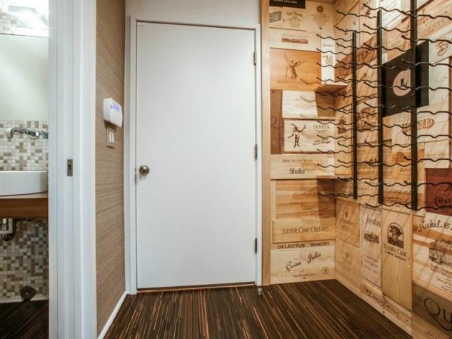Wine room at 4321 Travis St. in Dallas