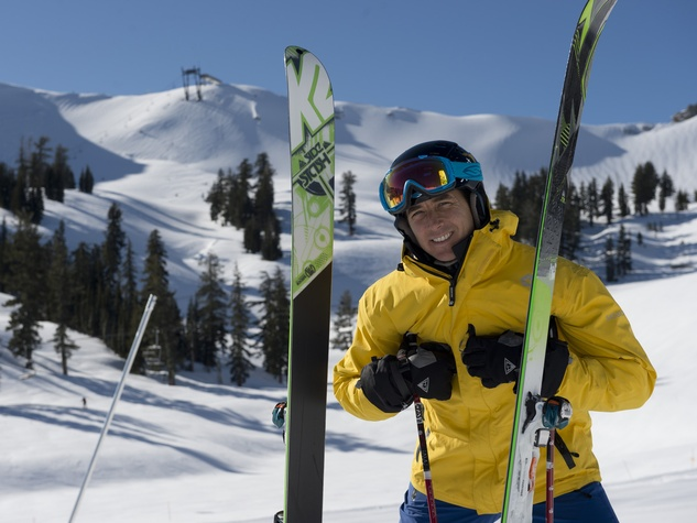 Jonny Mosely at Squaw Valley