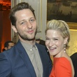 Derek Blasberg and Julie Macklowe at Luxembourg Palace dinner
