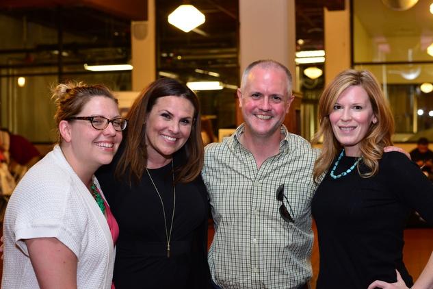 News, Shelby, Scrabble in the City, May 2015, Mandy Graesele, Laura Pettitt, Chip Ranking and Carey Kirkpatrick
