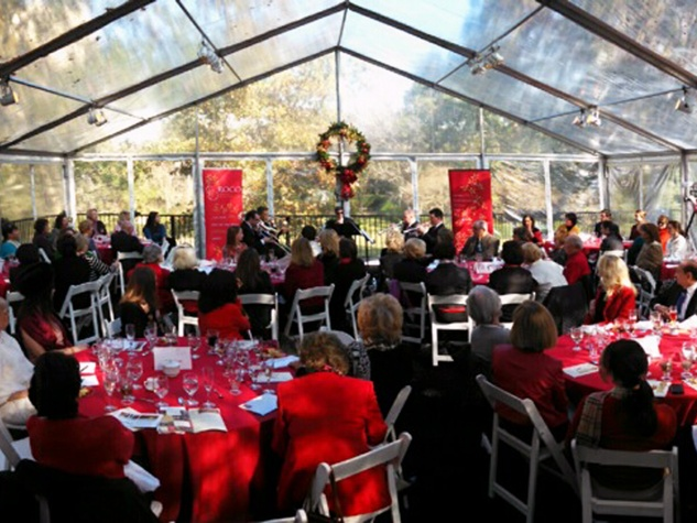 1 The venue at the ROCO Yuletide Concert at Bayou Bend December 2014