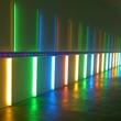 News_Dan Flavin_Site-specific installation by Dan Flavin_1996_Menil Collection_Richmond Hall